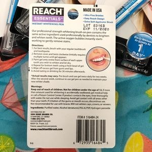Other - (4) New Reach essentials instant whitening pens